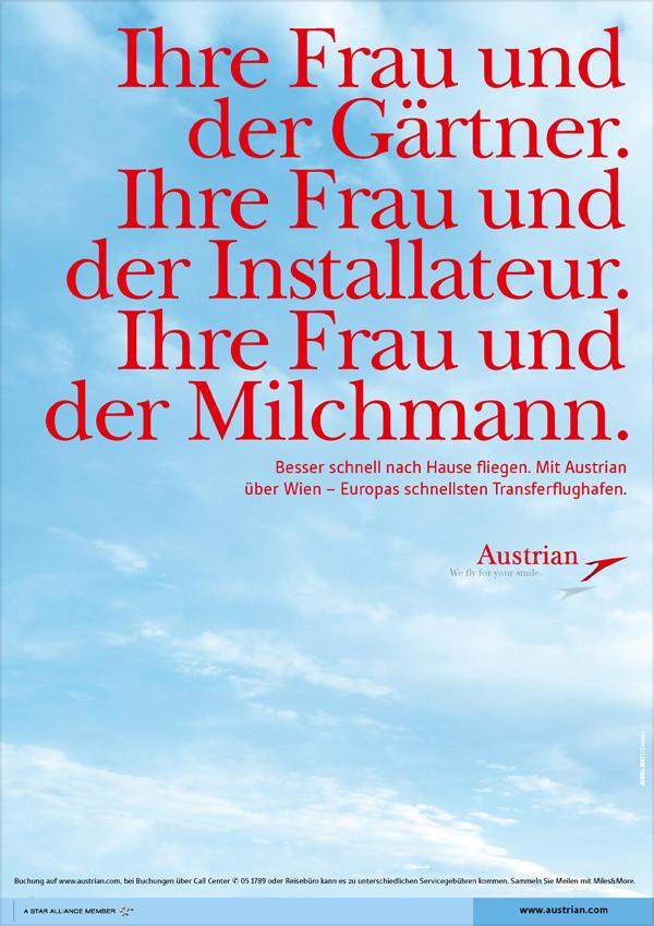 Austrian Airlines   Anzeigen