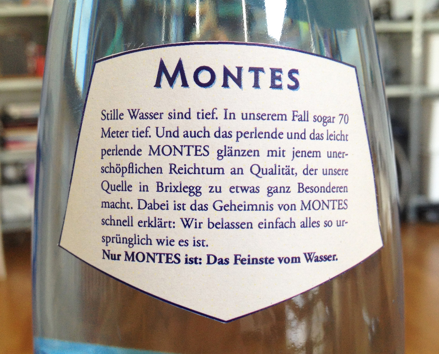 Montes | Etikettentext